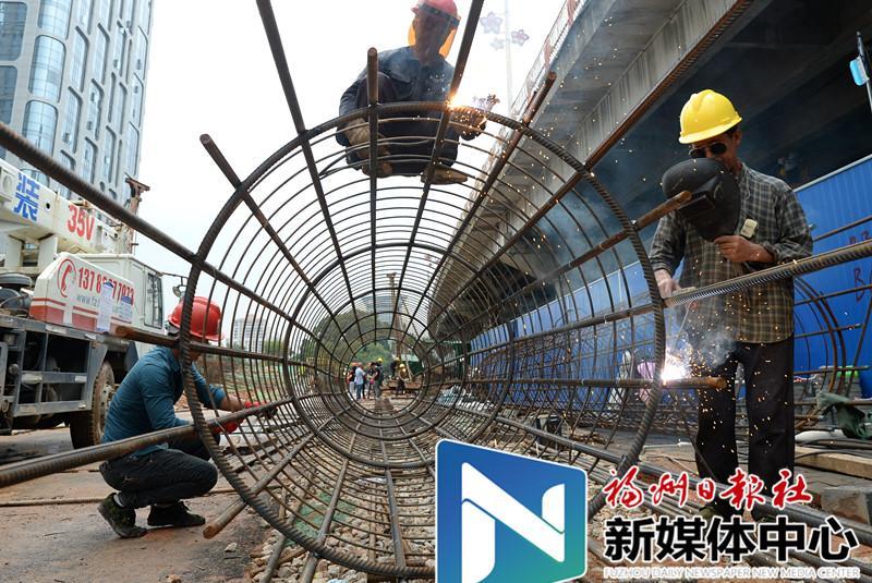 鳌峰大桥南桥头明年春节前完成改造