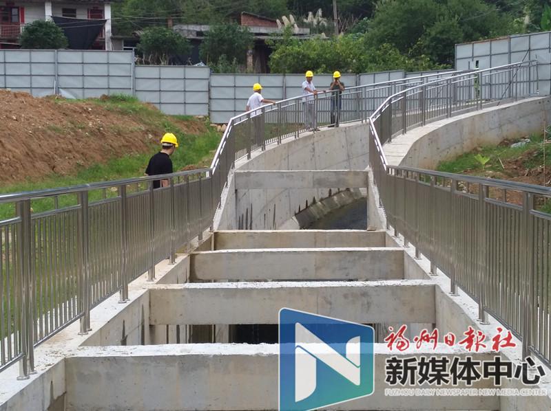 好消息!永泰南城区排洪工程(一期)即将建成