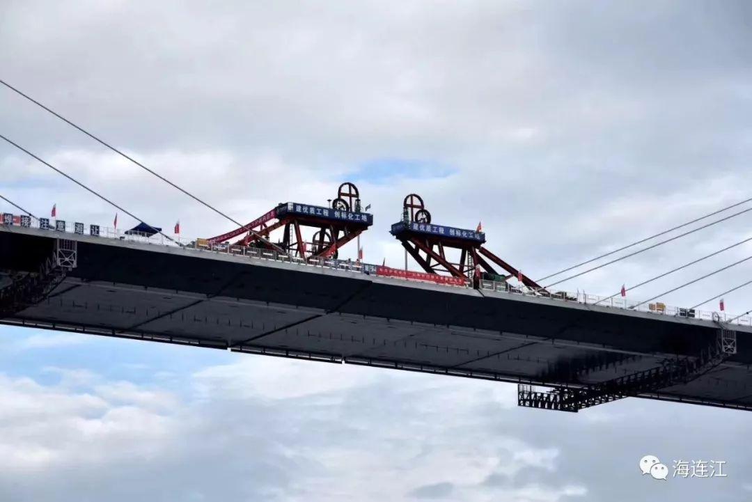 连江长门特大桥昨夜合龙,她创下世界第二、中国第一!