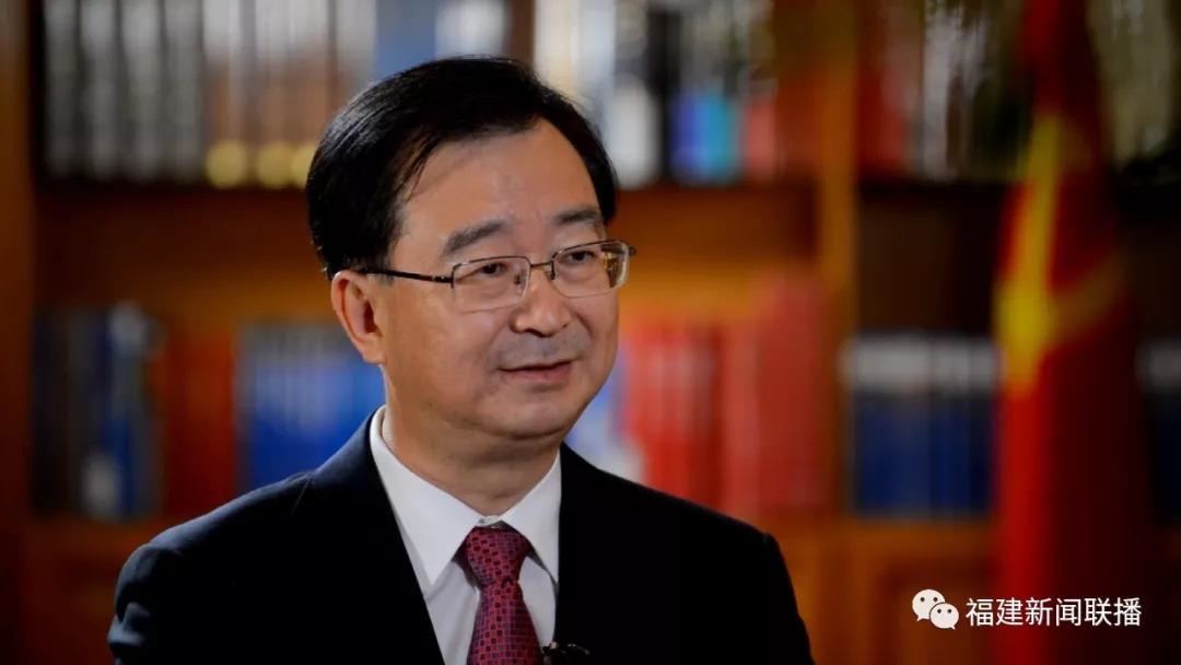 """王宁接受福建电视台专访,""""两个经济协作区发展访谈录""""栏目首集播出"""