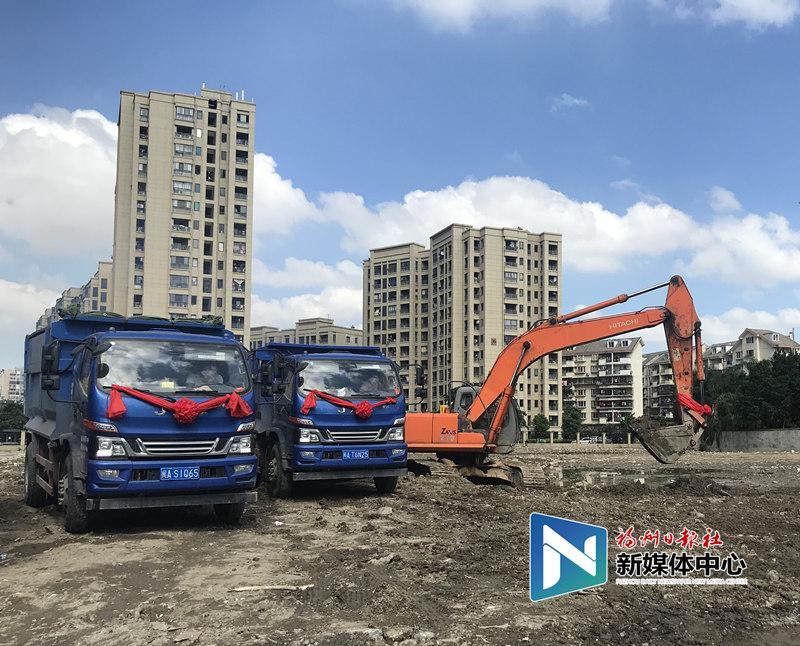 台江8个项目集中开工 海峡金融商务区又添一配套住宅