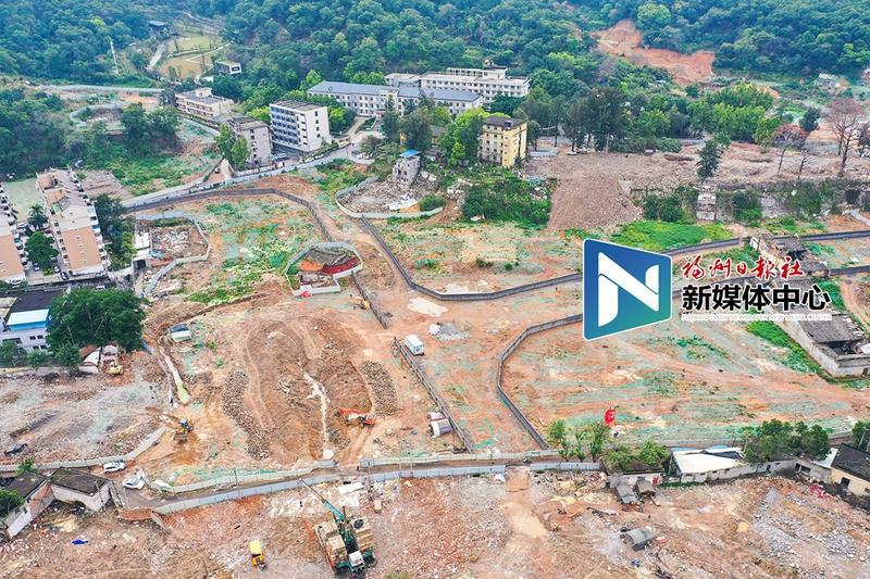 晋安洋下旧改地块安置房项目开工 火车站周边又添一新城