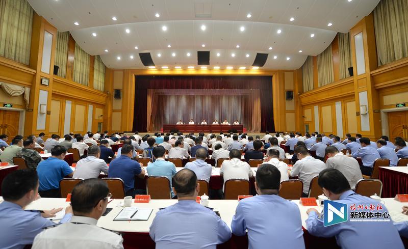 王宁:奋力开创新时代福州公安工作新局面