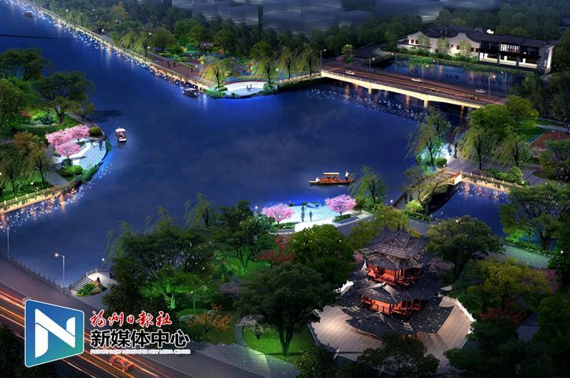 """串联""""一港一河"""" 福州打造最长最美核心景观带"""