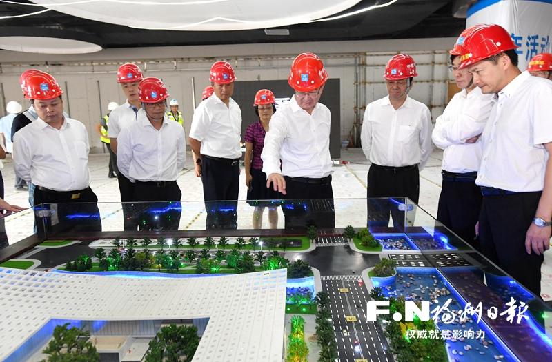 王宁:不断提高滨海新城建设质量水平