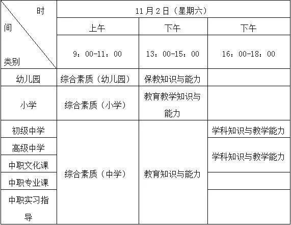 注意!中小学教师资格考试9月3日开始网上报名