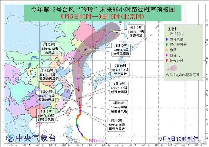 """方才!""""玲玲""""进级超强台风!对福州的影响是……"""