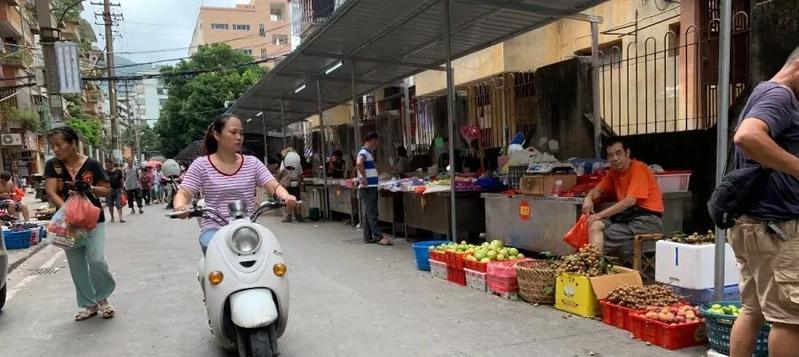 """长乐河下街农贸市场进级革新啦!等候新""""颜值"""""""