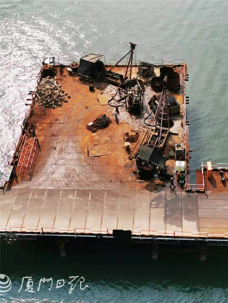 福厦高铁泉州湾跨海大桥新进展!已有桥墩出海面