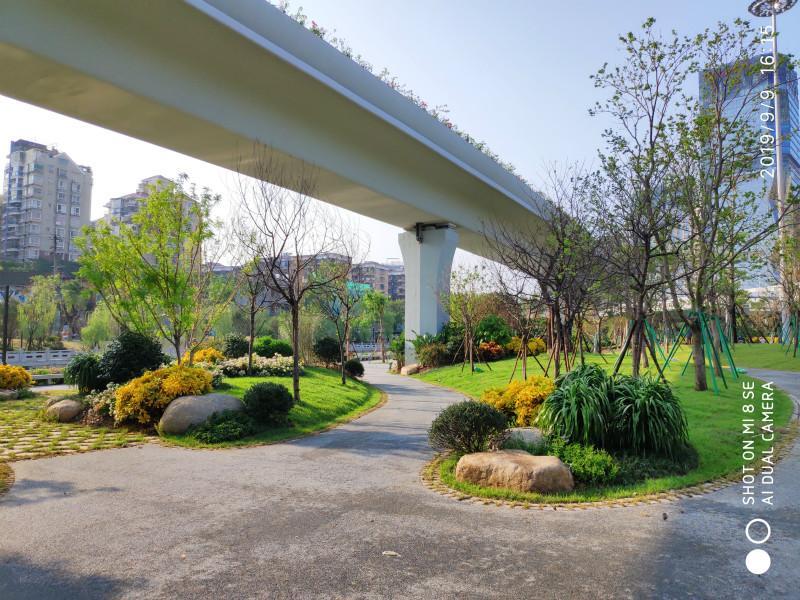 晋安3公里化工路颜值再提升 打造最美景观带
