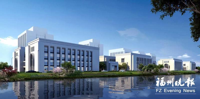 福建精准医学产业创新中心(一期)部分研发楼封顶