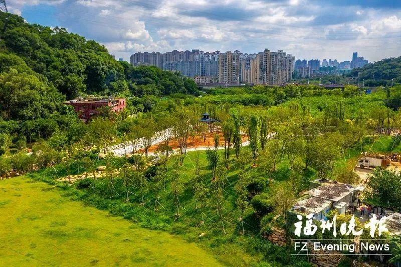 国庆前建成!登云水库新增逾万平方米生态公园