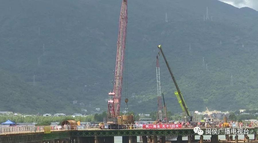 最新进展!闽侯二桥进入主体结构施工阶段