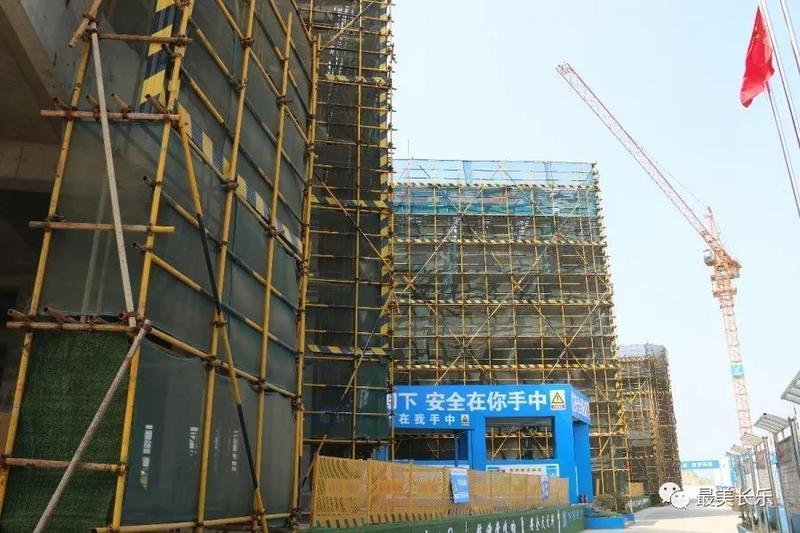 滨海新城又一家幼儿园即将封顶 计划2020年投入使用
