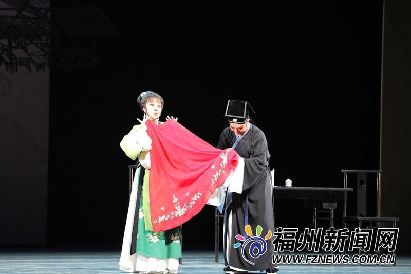 第十六届中国戏剧节在榕闭幕 闽剧《红裙记》压轴登场