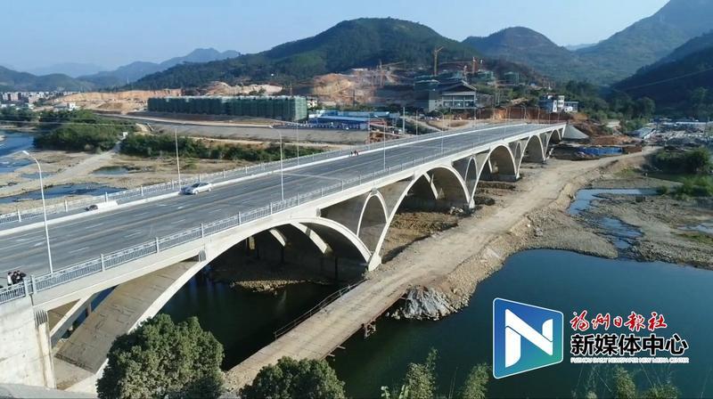 永泰黄埔大桥通车 全省首座大跨径钢筋混凝土连续拱桥