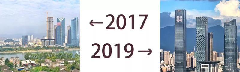 如果福州也有朋友圈,TA的2017和2019的对比是……