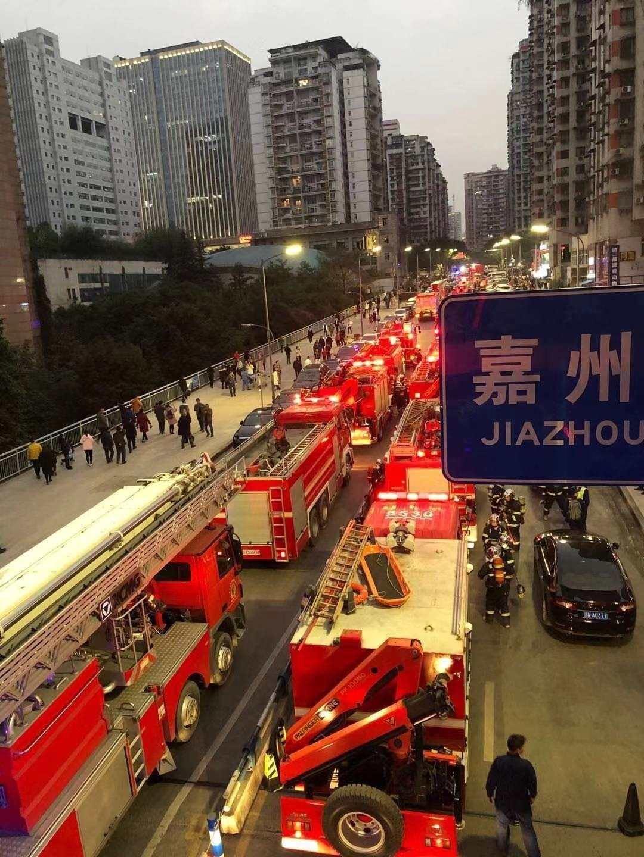 重慶高層居民樓火災火勢得到控制,暫無人員傷亡
