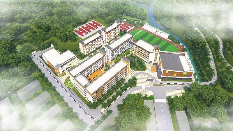 永泰县东门中学项目一期预计今年8月底竣工