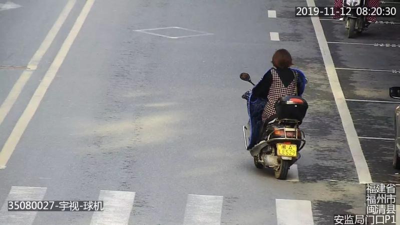 注意!闽清高清抓拍摩托车假套牌,已报废,有你吗?