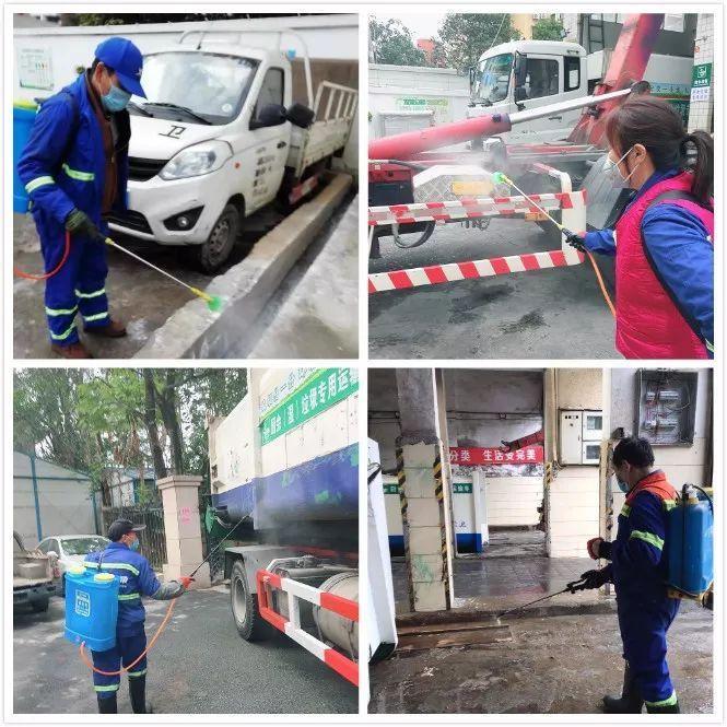 落实一级响应,台江城管助力防疫工作