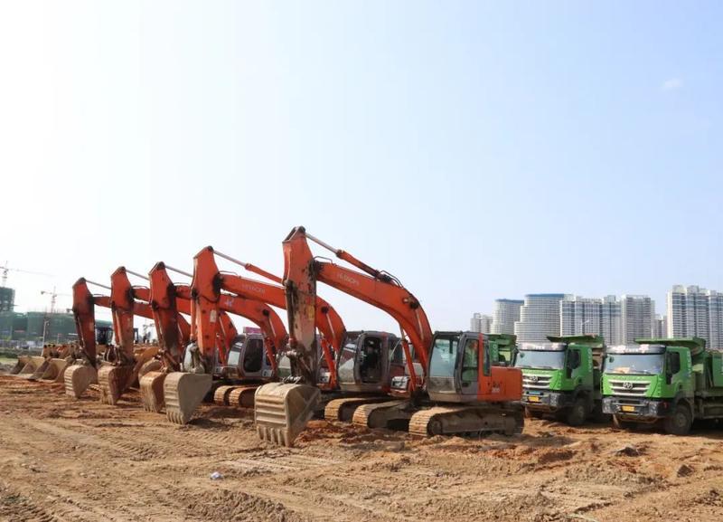 马不停蹄!滨海新城又有项目集中开工啦