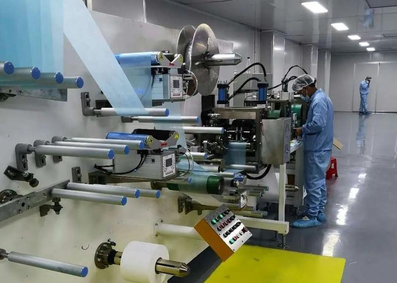 日产量20万只!长乐一条新开口罩生产线投产