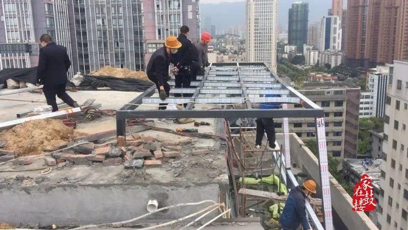 不手软!鼓楼拆除各类违建3555平方米