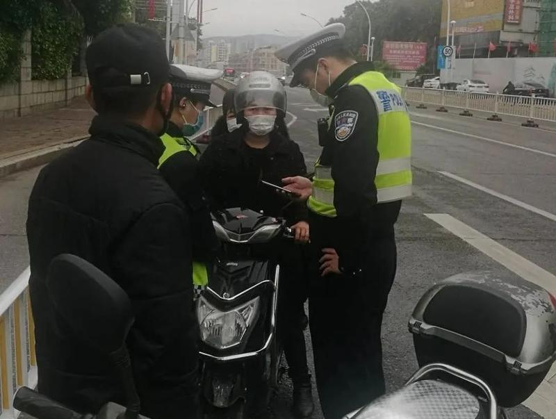 福清交警開展二輪非機動車違法整治,哪些行為會被抓?