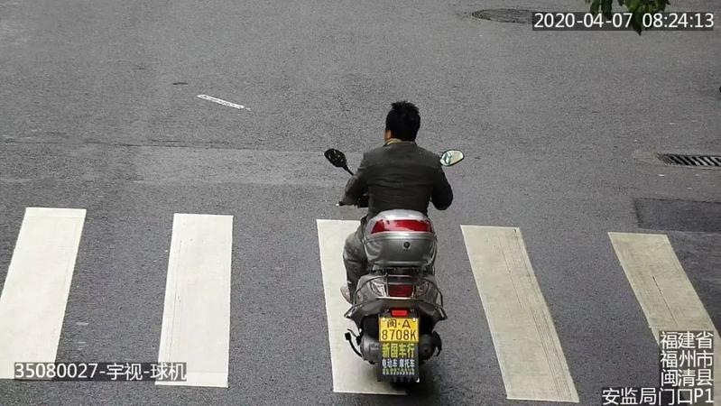 曝光!闽清这些摩托车骑手未戴安全头盔