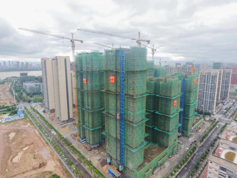 福州高新区安置房项目有新进展 预计今年年底完工
