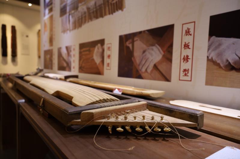 脱胎漆器、古琴……鼓楼又一非遗文化展开展