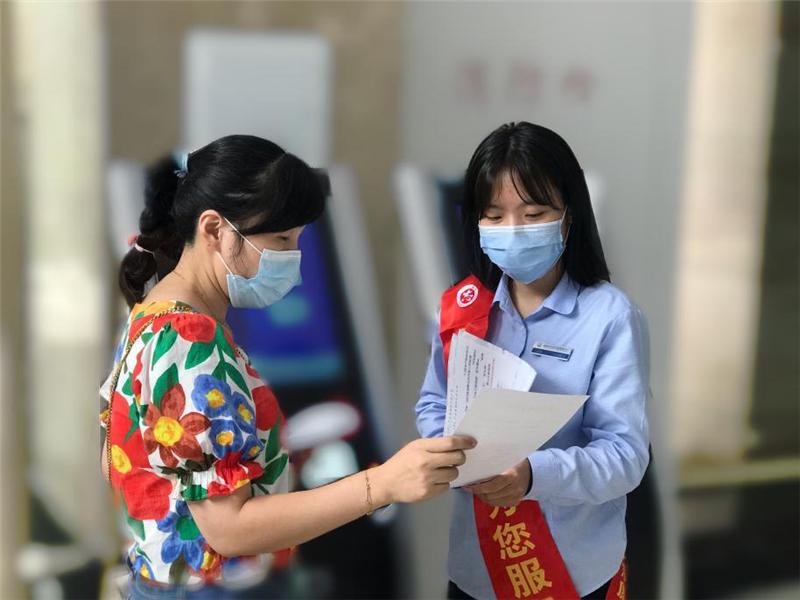 台江区持续推进诚信宣传志愿服务活动