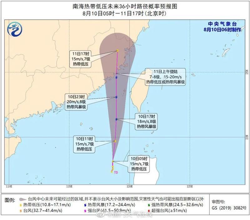 警惕!新台风或在连江登陆!福州气温暴跌!
