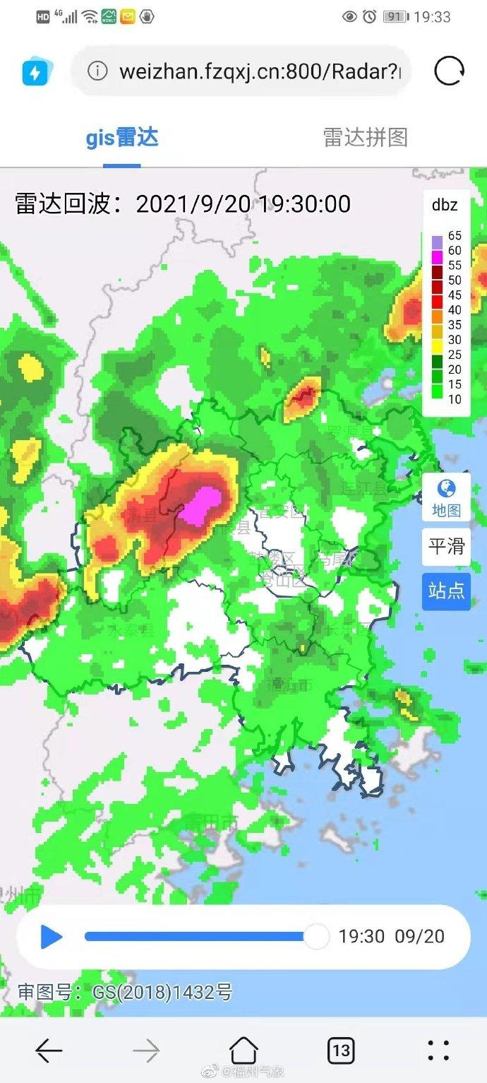 大风+雷电预警!福州这波雨下得太突然