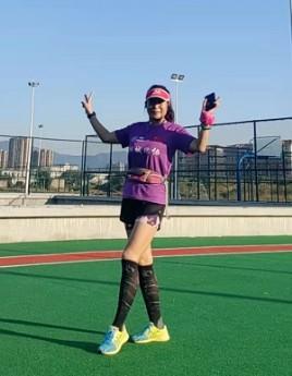 首届线上跑量达人:安徽女跑将16天跑652.17公里,一天一个全马